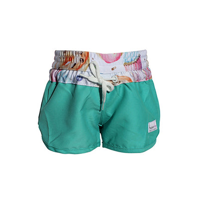 Girls Boardshorts - Tea Party