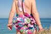 Growth Suit - Surf Flowers - SIZE 8
