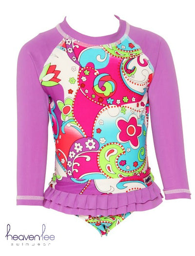 Long Sleeve Rash Top - Splash