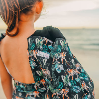 Swim Bag - Tiger - HeavenLee Swimwear