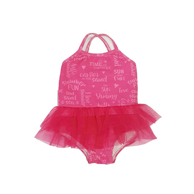 Tutu Swimsuit Summer Fun - Size 0 - HeavenLee Swimwear