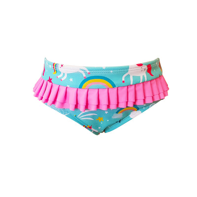 Frill Knicker - Unicorn Rainbows