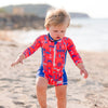 Sunsuit Boys - Nautical - HeavenLee Swimwear