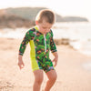 Sunsuit Boys - Palms - HeavenLee Swimwear