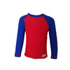 Long Sleeve Rash Top - Red