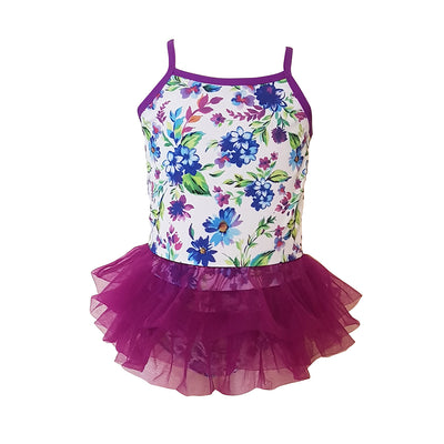 Tutu Swimsuit - Florals