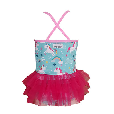 Tutu Swimsuit - Unicorn Rainbows