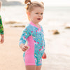 Sunsuit Girls - Unicorn Rainbows - HeavenLee Swimwear