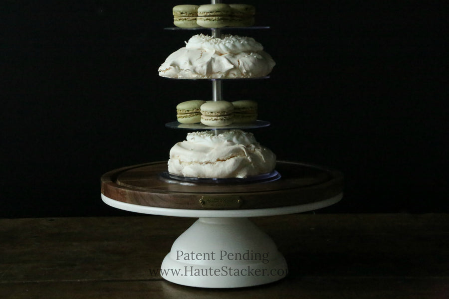 Haute Stacker Meets Joanna Gaines' Cake Stands