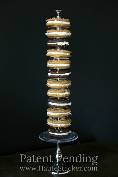 Haute Stacker Doughnut, Donut, Cake, Cookie Tower for Wedding or Birthday
