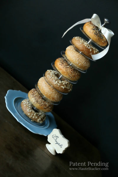 Haute Stacker doughnut donut bagel wedding cake tower