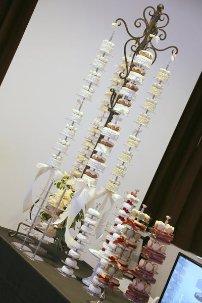 Haute Stacker Event Planner Expo Doughnut Donut Cake Wedding Tower