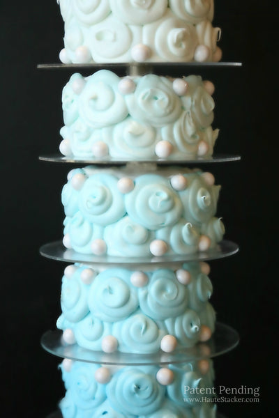 Haute Stacker Doughnut Donut Cake Pastry Wedding Tower