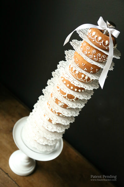 Haute Stacker doughnut dunkin donuts wedding cake tower