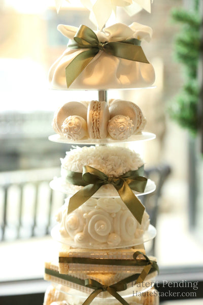 Haute Stacker doughnut donut cake pastries wedding tower wall art