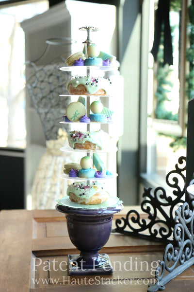 Haute Stacker Doughnut Donut Wedding Cake Tower