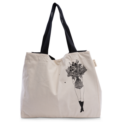 grote shopper flower girl