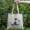 tote bag zen with cats