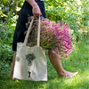 tote bag flower girl