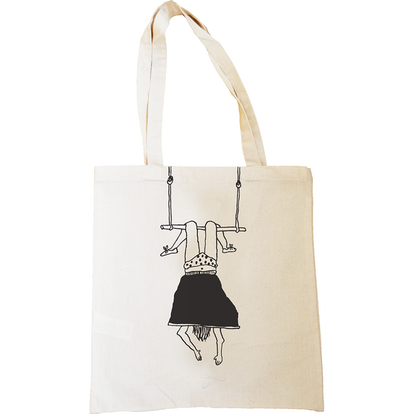 tote bag trapeze girl