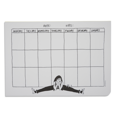 weekly planner A4 flexible fiona