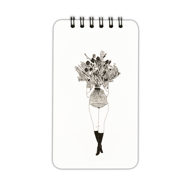 wiro notebook flower girl