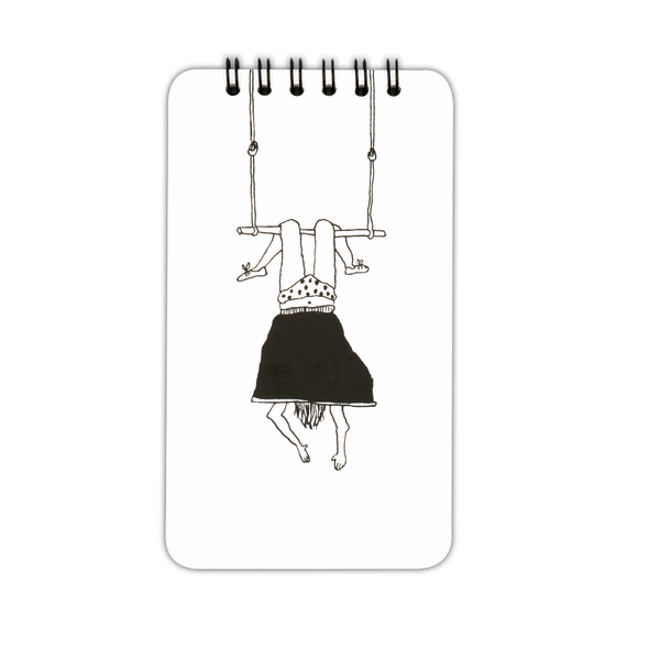 wiro notebook trapeze girl