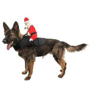 Midlee Santa Claus Jockey Dog Costume (Large)