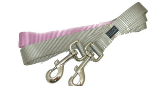 Freedom No Pull 1 Inch Training LEASH ONLY Works with No Pull Harnesses (Light Pink)
