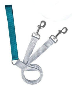 Freedom No Pull 1 Inch Training LEASH ONLY Works with No Pull Harnesses (Teal)