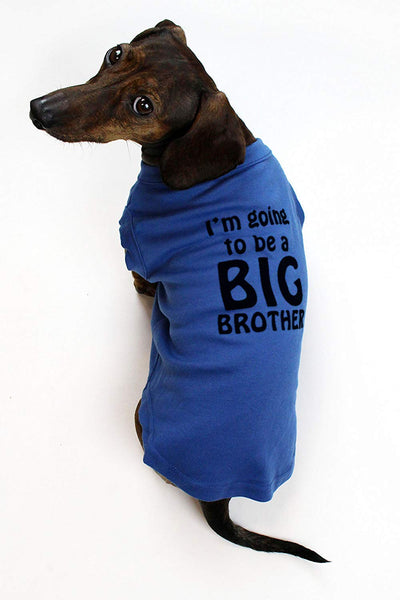 Midlee I'm Going to be a Big Brother Dog Shirt