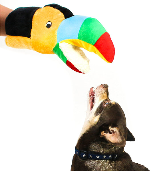 Barkology Tommy the Toucan Hand Puppet