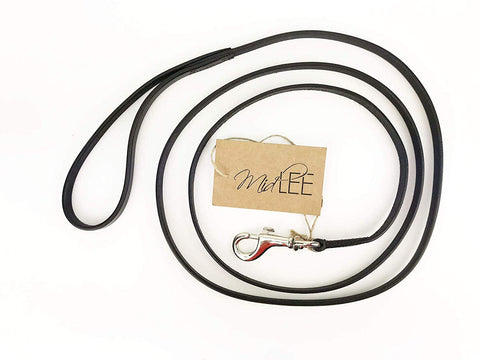 Midlee Small Leather Dog Leash
