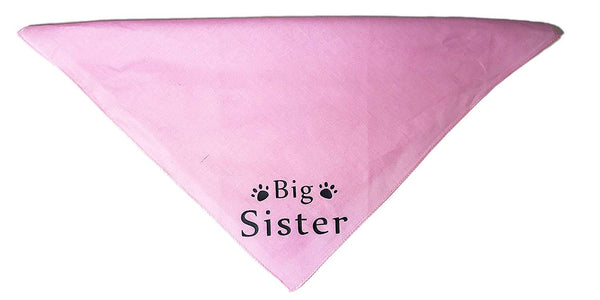 Midlee Big Sister Dog Bandana