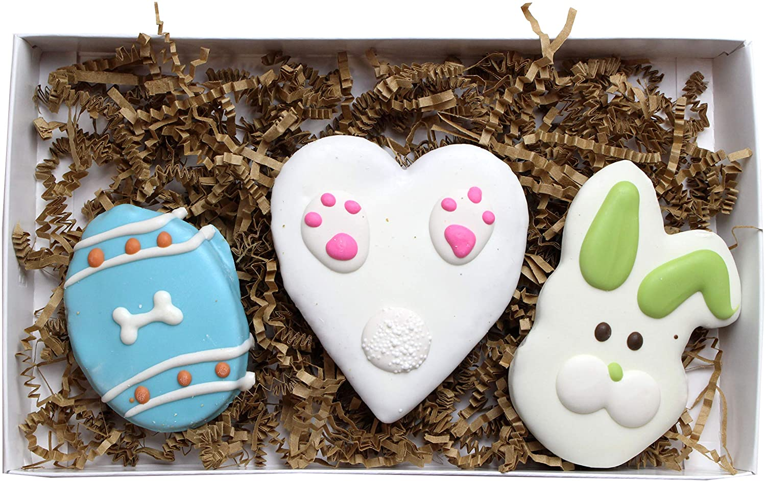 Bunny Love Easter Dog Treats- 3 Treats