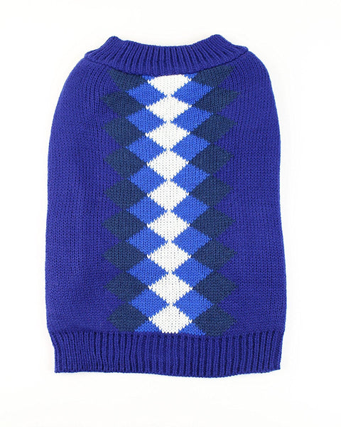 Argyle Dog Sweater by Midlee