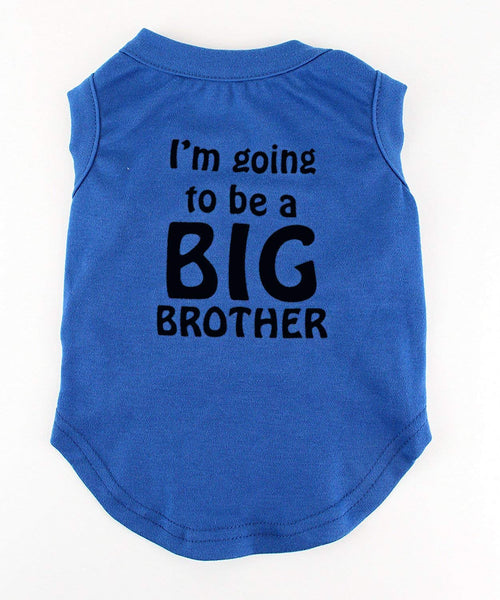 Midlee I'm Going to be a Big Brother Dog Shirt (XX-Large)