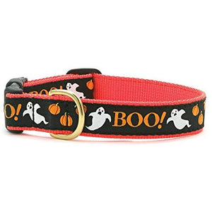 "Up Country Boo Dog Collar (X-Large (18-24"") 1"" wide)"