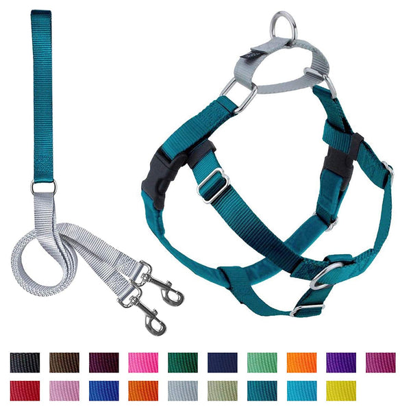 2 Hounds Design Freedom No-Pull Dog Harness with Leash, X-Small