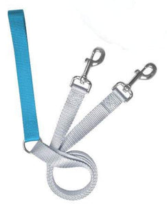 Freedom No Pull 1 Inch Training LEASH ONLY Works with No Pull Harnesses (Turquoise)