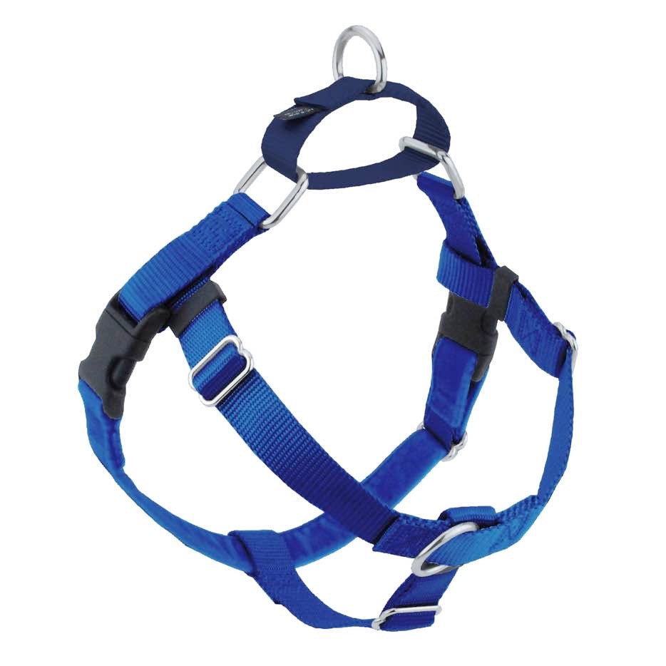2 Hounds Design Freedom No-Pull Harness ONLY, Large Royal Blue