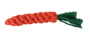 Midlee 1-Pack Rope Carrot Easter Dog Toy