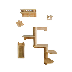 Midlee Cat Wall Climber Furniture- Large
