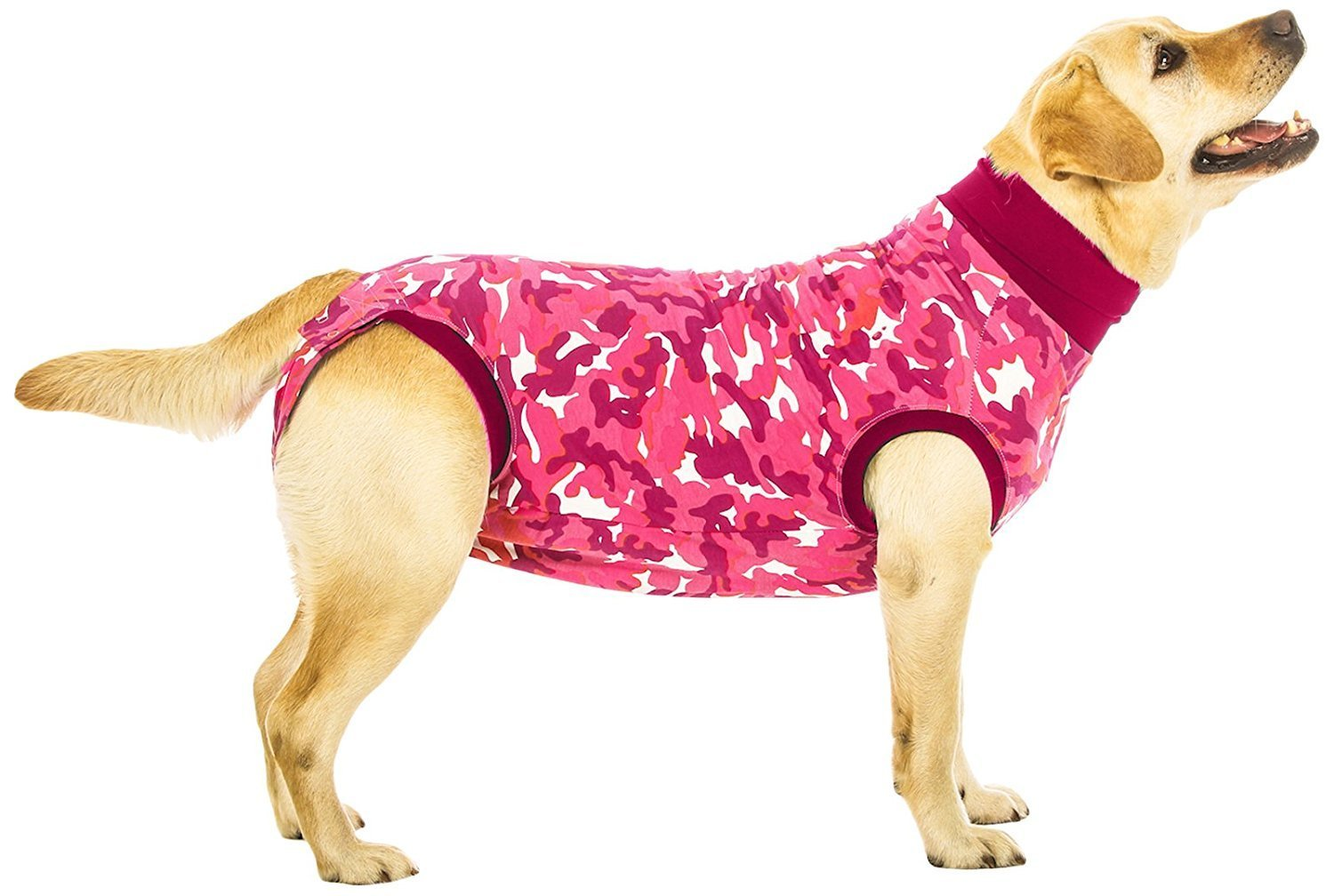 Suitical Recovery Suit for Dogs - Pink Camo - size XXX-Small