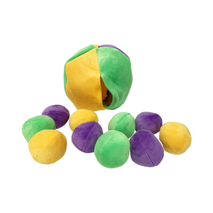 Midlee Hide a Ball Dog Puzzle Toy