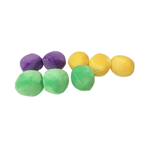 Midlee Squeaky and Crinkley Plush Dog Balls (Refill for Midlee Hide a Ball)
