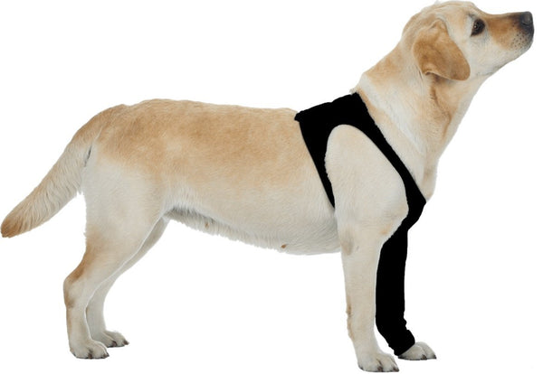 Suitical Dog Recovery Sleeve XXS Black
