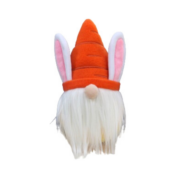 Midlee Easter Bunny Gnome Dog Toy