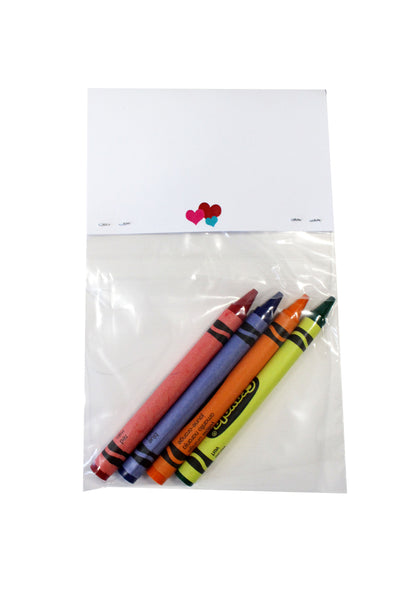 """Hope You Have a Colorful Valentine's Day"" Kids Valentine Favors, Pack of 12"