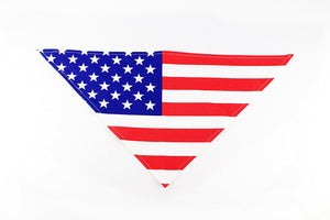 USA Flag 4th of July Dog Bandana by Midlee